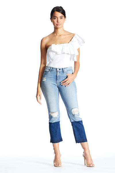 ONE SHOULDER BODYSUIT  by KENDALL + KYLIE