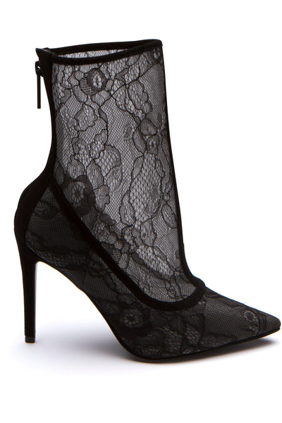 ALANNA LACE BOOT SHOES by KENDALL + KYLIE