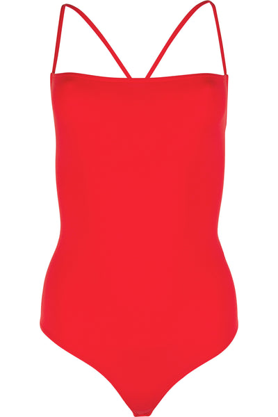 CAMI  BODYSUIT RED