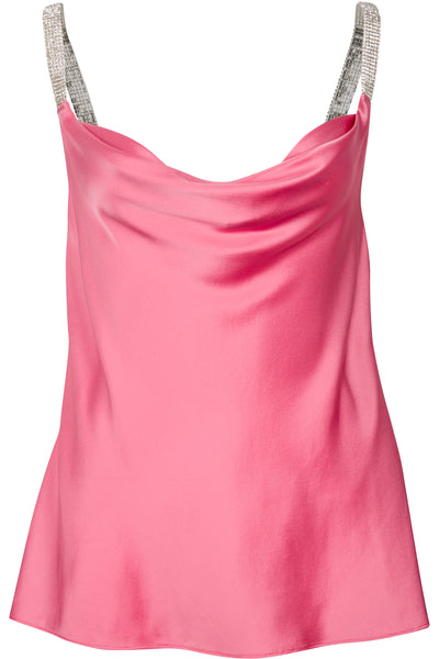 WATER-WASHED SILK CAMI