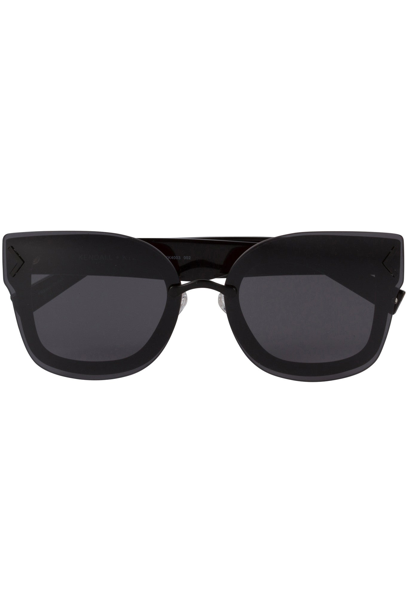 PRISCILLA BLACK ACETATE AND SMOKE-TONE SUNGLASSES EYEWEAR by KENDALL + KYLIE