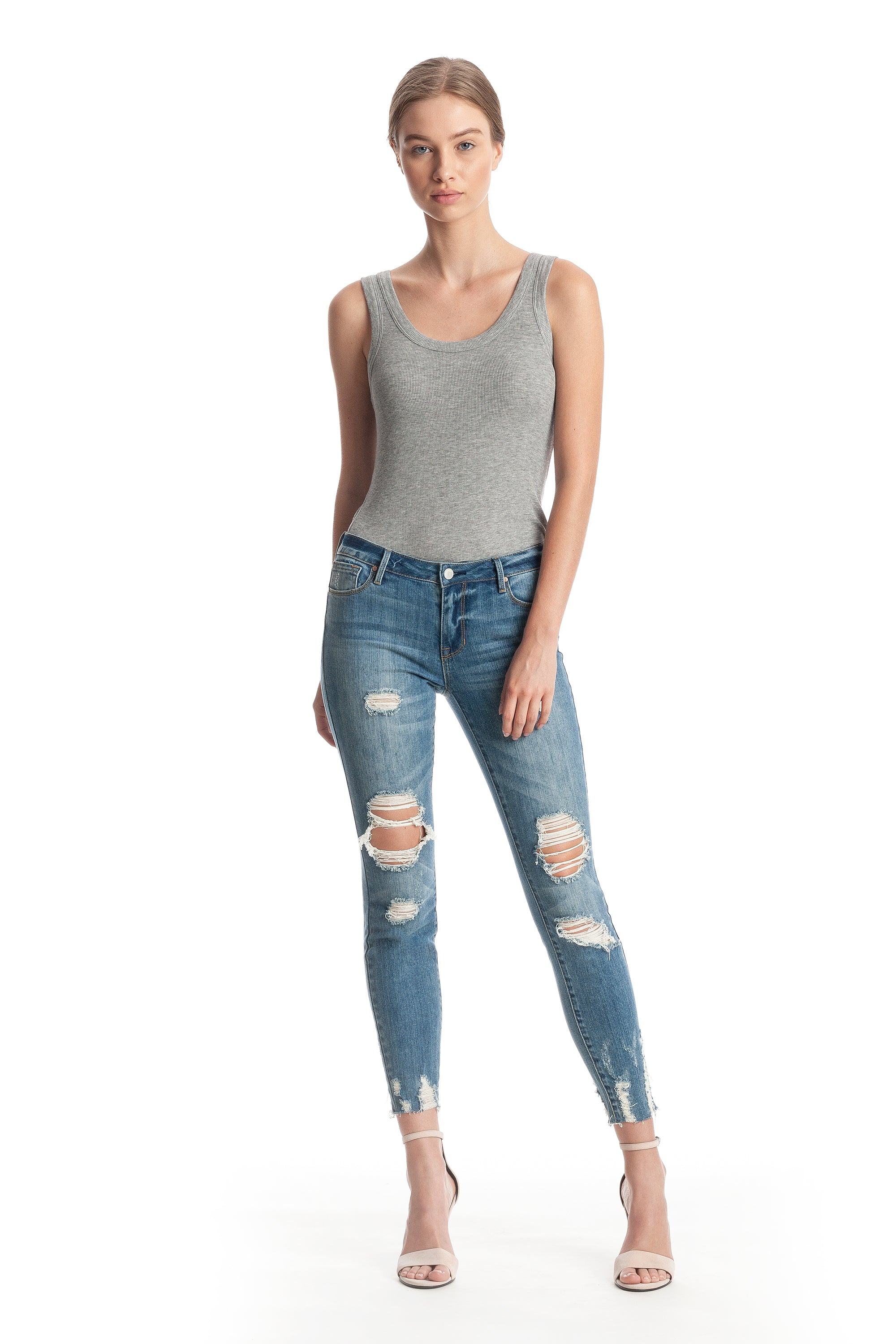 THE ULTRA BABE JEAN PANTS by KENDALL + KYLIE