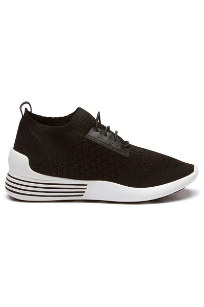 BRANDY BLACK FABRIC SNEAKER