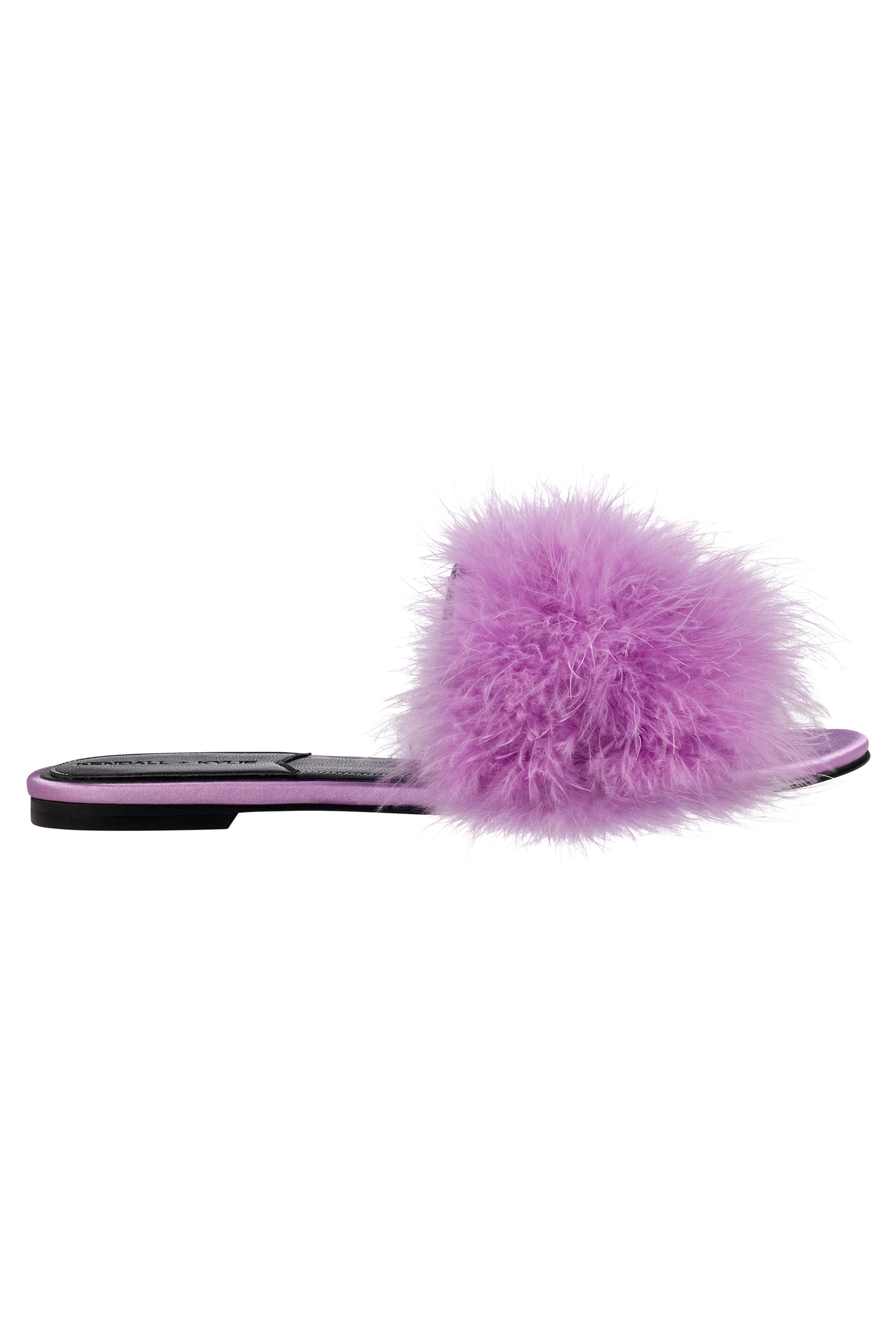 CHLOE FEATHER SLIDE SHOES by KENDALL + KYLIE
