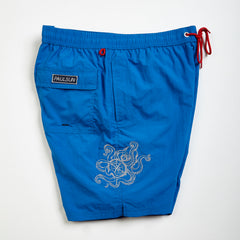 custom embroidery mens swim trunks swimsuit collection designer classic royal octopus