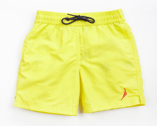 nautical boys sailing swimwear swim trunks swimsuit designer classic yellow nautical Americana