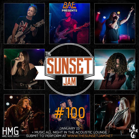 Erik Himel's 100th Sunset Jam celebration at Viper Room TONIGHT 1/15/18