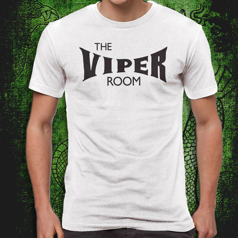 Viper Room Logo White Tee