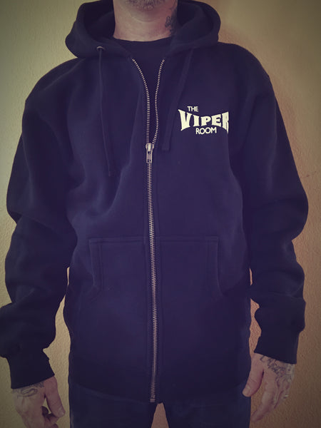 Super Heavy Weight Viper Room Zip up Hoodie`