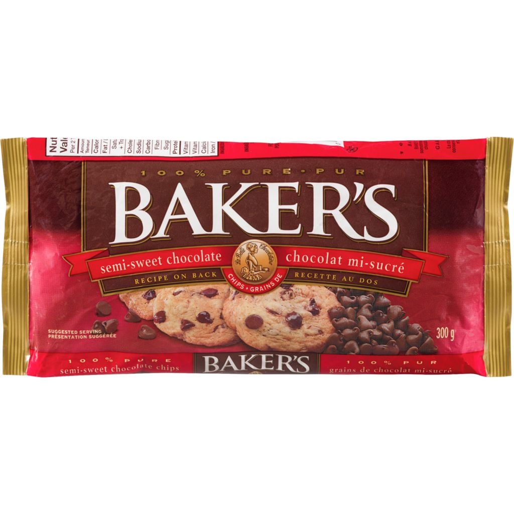 100% Pure Bakers Choice Chocolate Chips