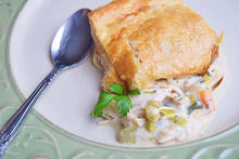 Load image into Gallery viewer, The Village Kitchen Chicken Pie-Large Feeds 2 to 4 people