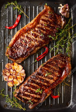 Load image into Gallery viewer, New York Striploin Steaks 3 pack