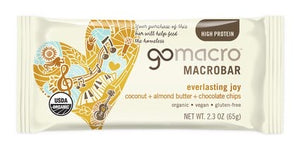 gomacro Everlasting Joy Coconut + Almond Butter + Chocolate Chips