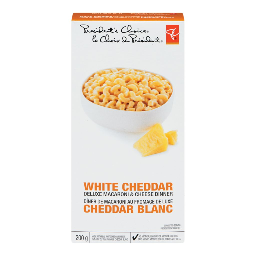 President's Choice Deluxe White Cheddar Macaroni and Cheese