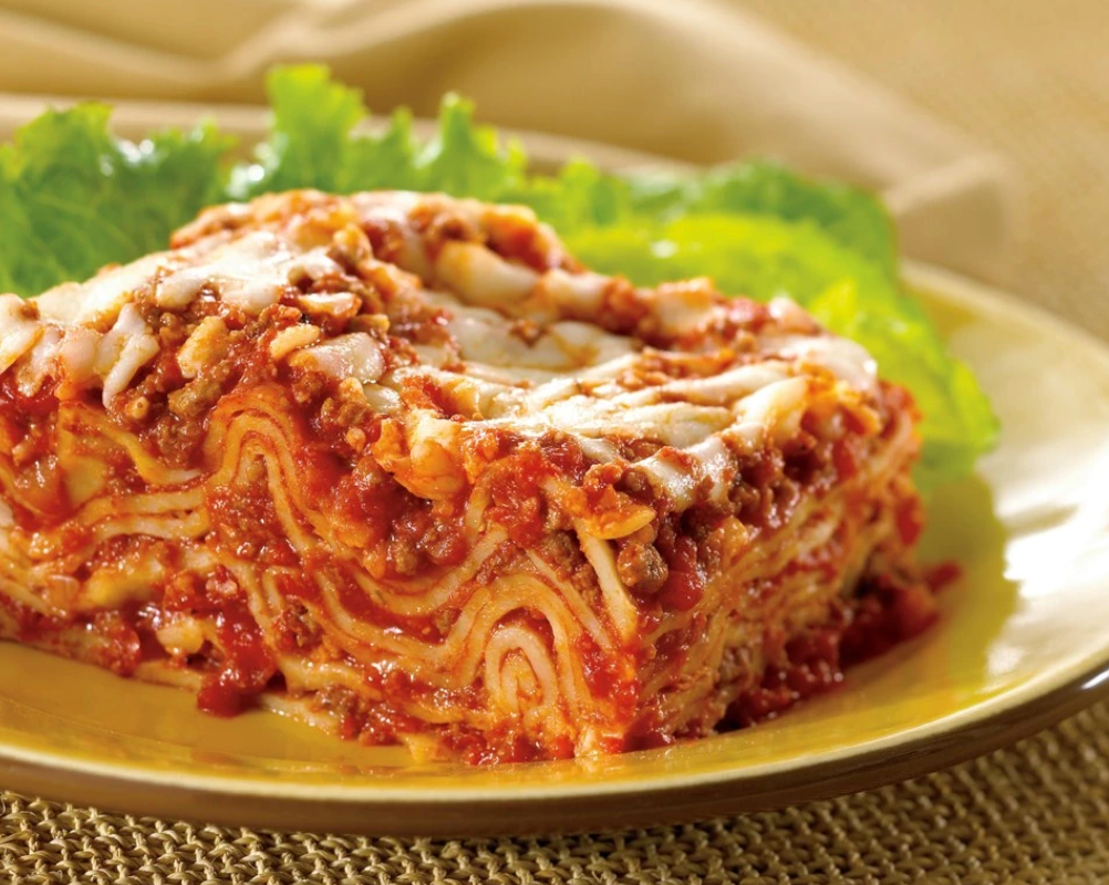 Zarky's Signature Italian Style Lasagna Bolognese with Three Cheeses
