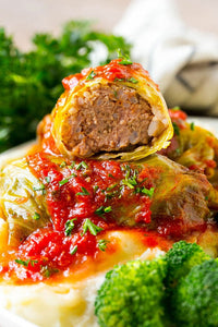 The Village Kitchen Cabbage Rolls-Large Feeds 2 to 4 people