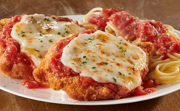 Zarky's Italian Style Chicken Parmesan- FEEDS 2 to 4 people.