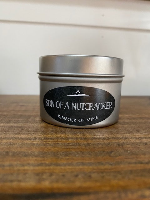 Son of a Nutcracker  4oz Candle