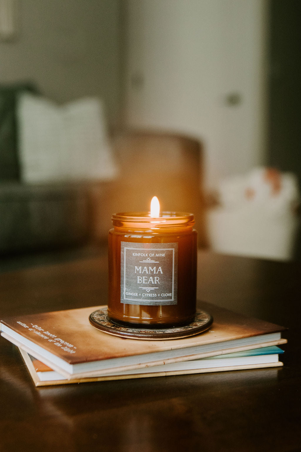 Mama Bear 9oz Candle