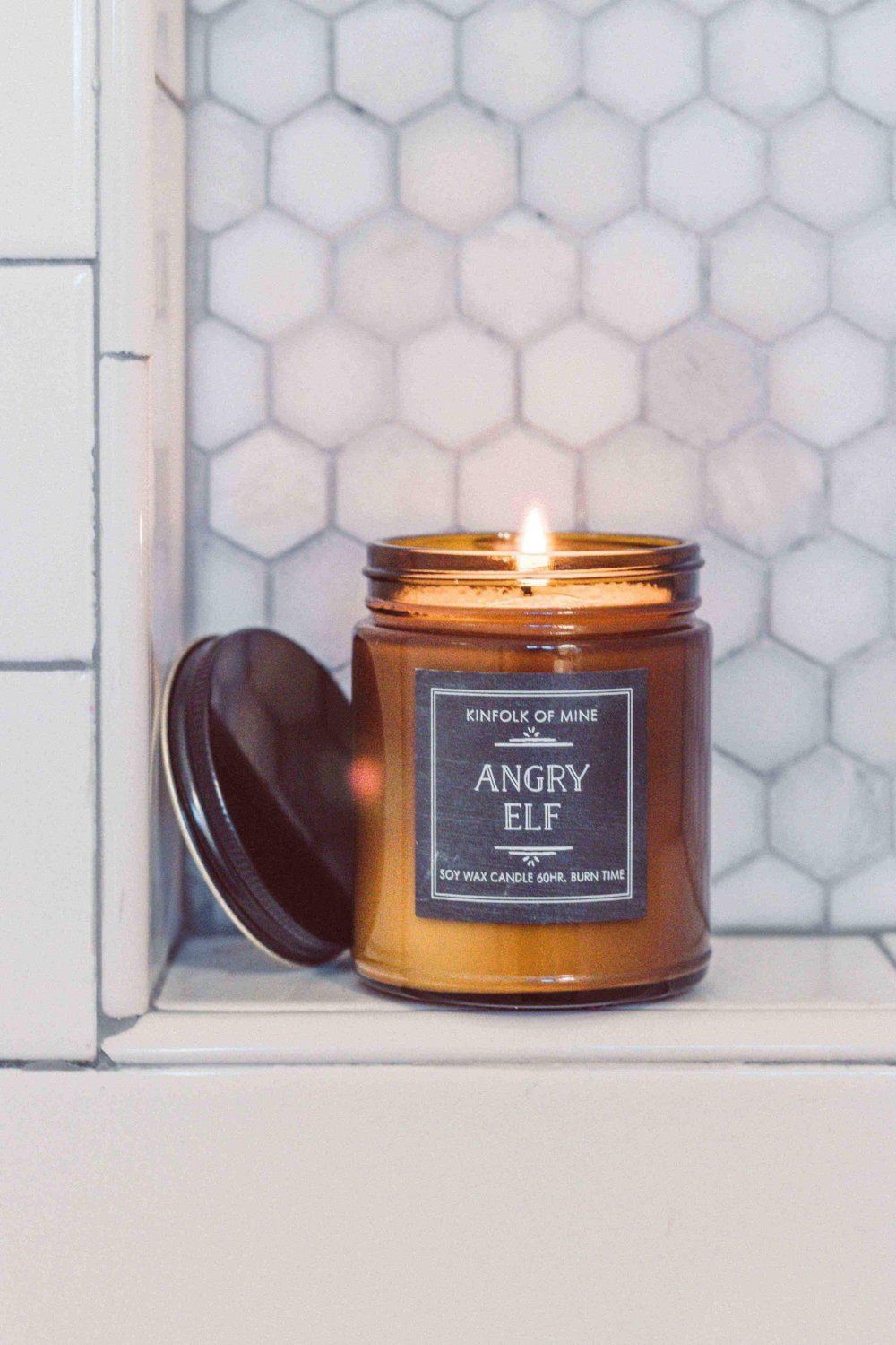 Angry Elf 9oz Candle