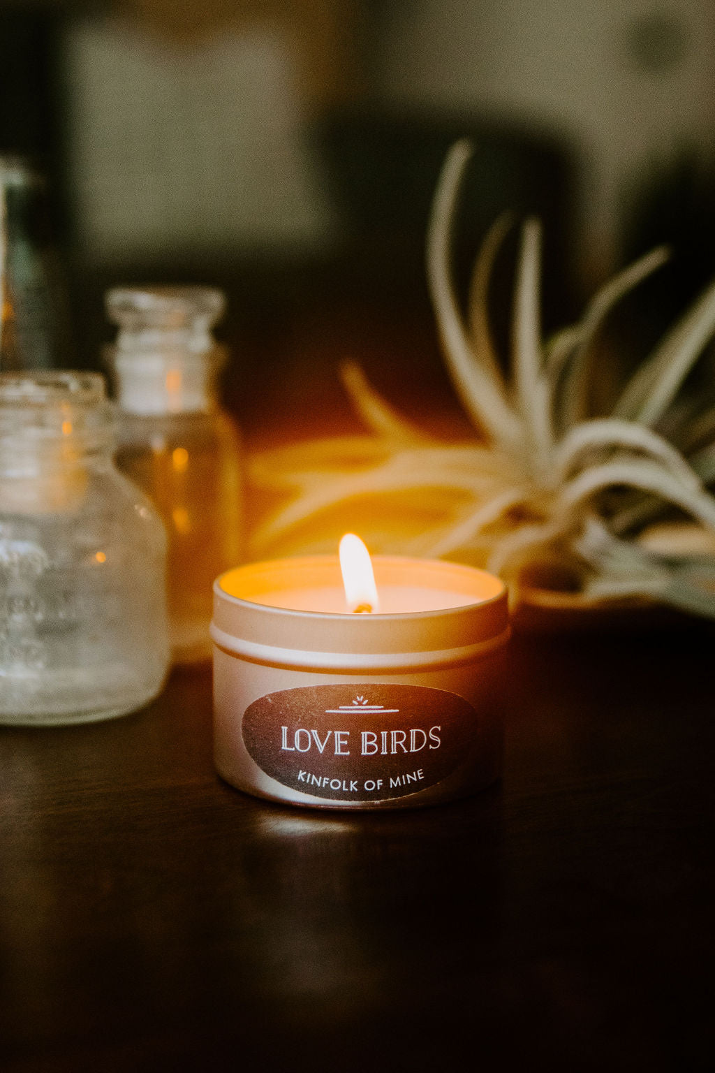 Love Birds 4oz Candle
