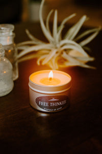 Free Thinker 4oz Candle