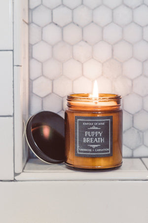 Puppy Breath Soy Wax 9oz