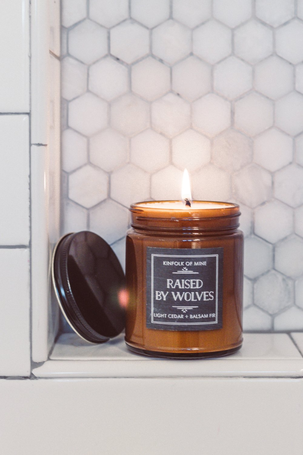 Raised by Wolves 9oz Candle