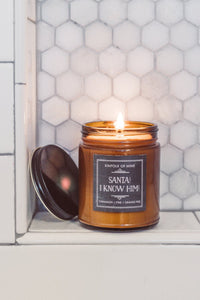 Santa! I Know Him! 9oz Candle