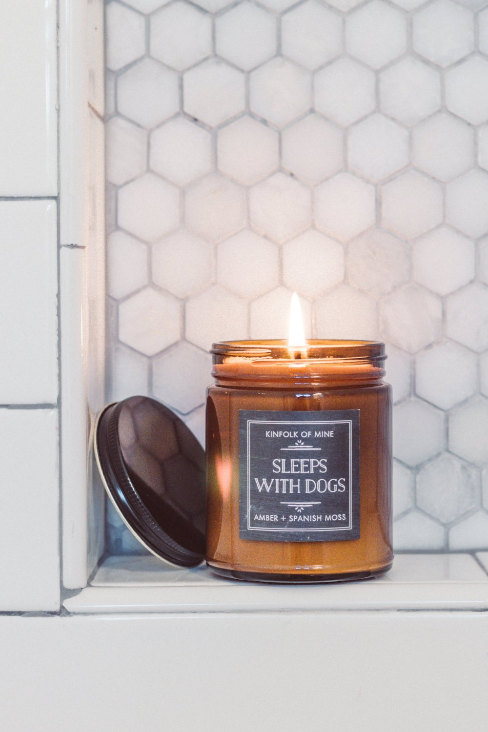Sleeps With Dogs 9oz Candle