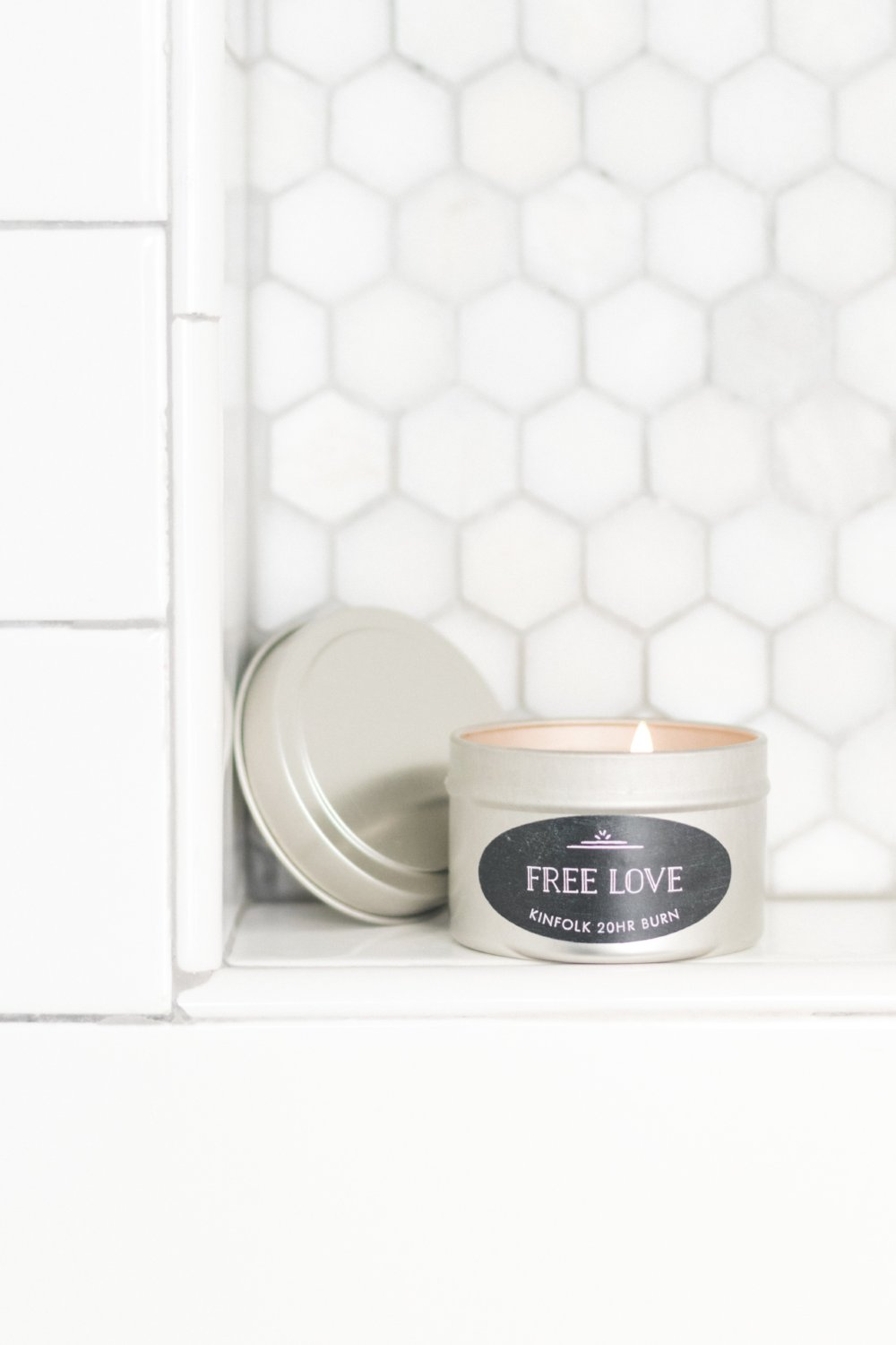 Free Love 4oz Candle