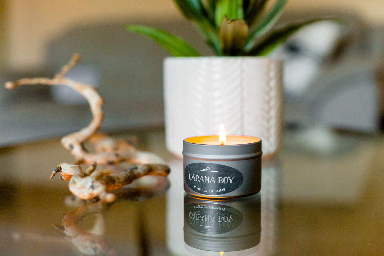 Cabana Boy 4oz Candle