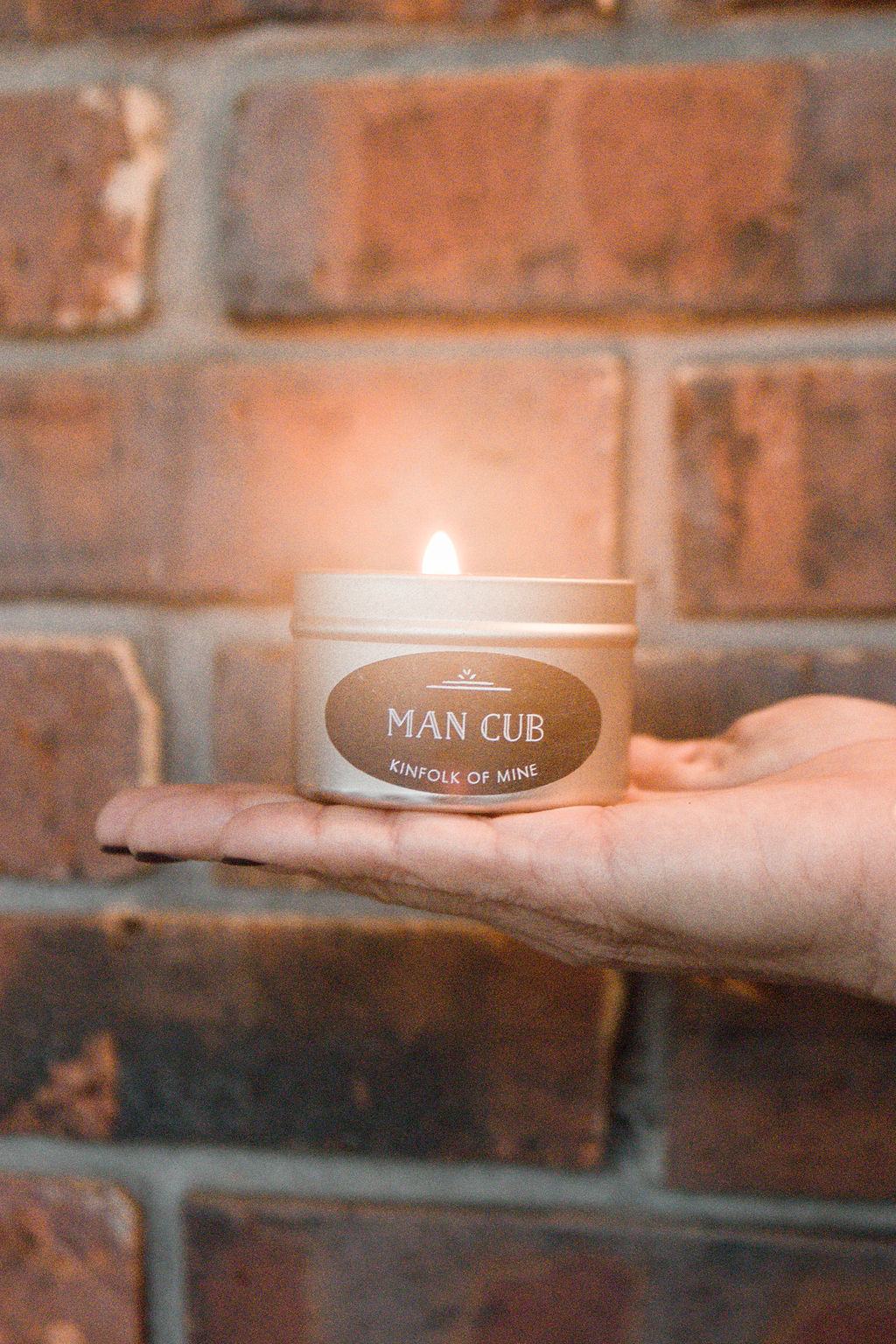 Man Cub 4oz Candle