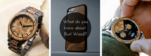 Wood of the Month: Burl Wood