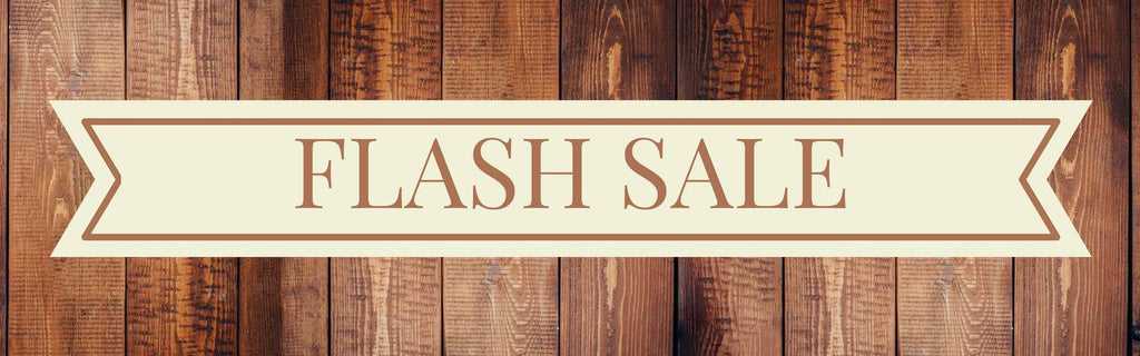 30% Off Flash Sale Wood Products From The Wood Reserve
