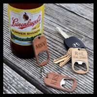 Custom Engraved Key Chain Bottle Opener from The Wood Reserve