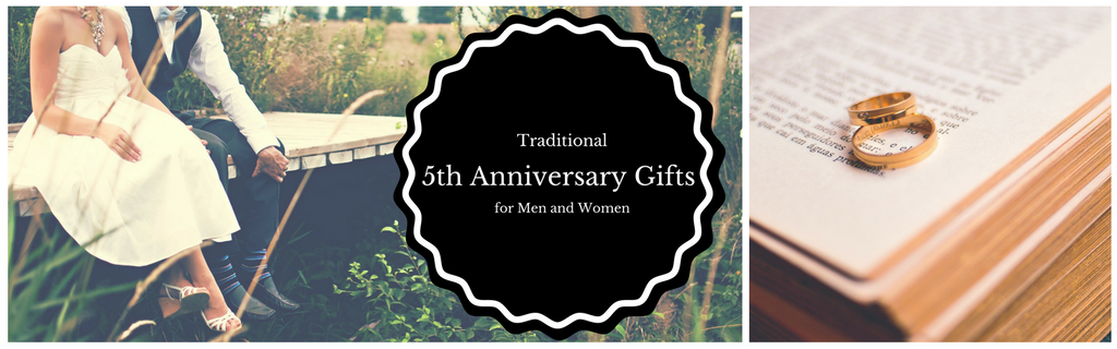 Traditional Wood 5th Anniversary Gifts for Men and Women