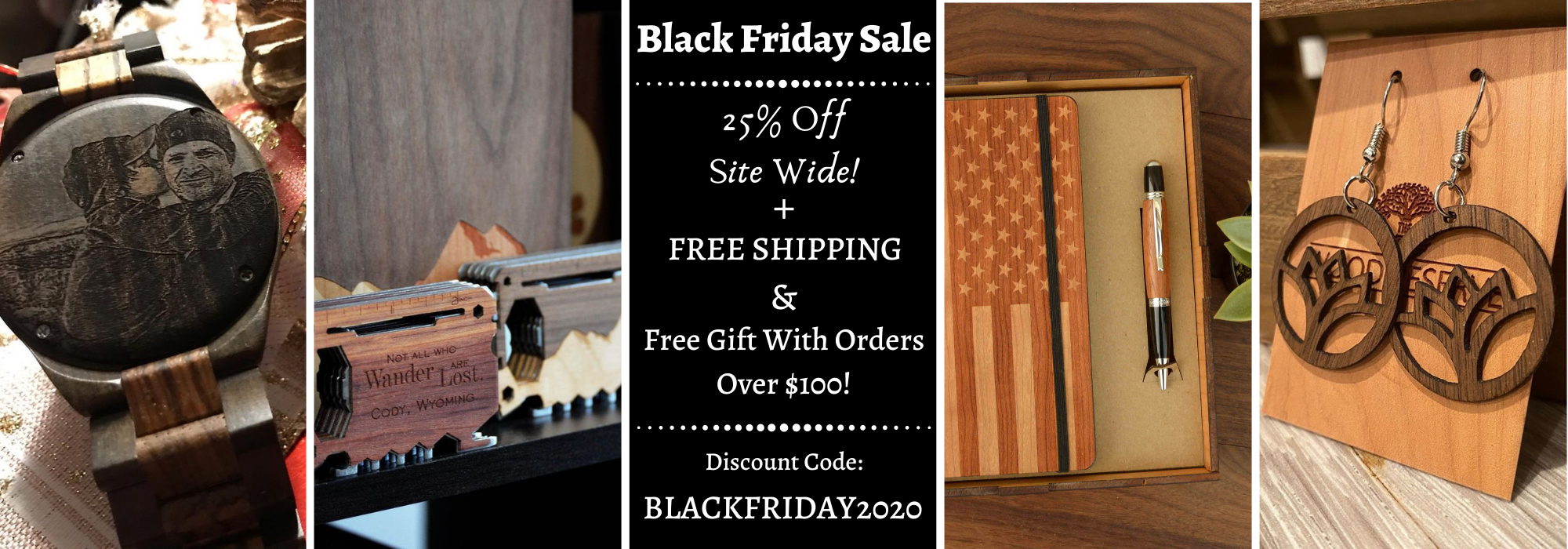 Black Friday Sale at The Wood Reserve