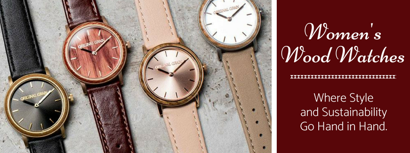 Unique Wood Watches for Women