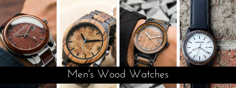 Unique Wood Watches for Men