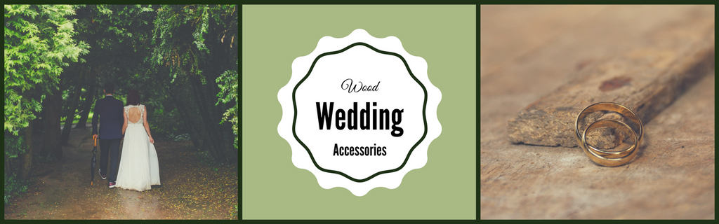 Unique Wood Wedding Accessories and Wedding Favors