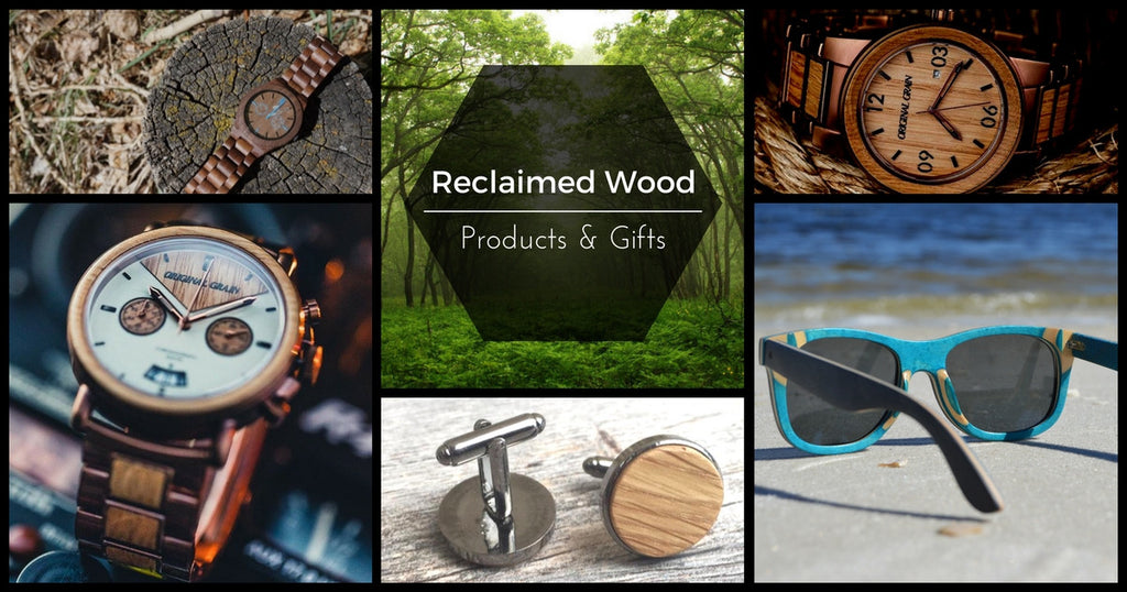 Reclaimed Wood Gifts for Men and Women