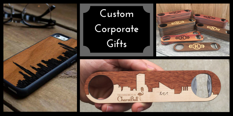 Custom Corporate Gifts from The Wood Reserve
