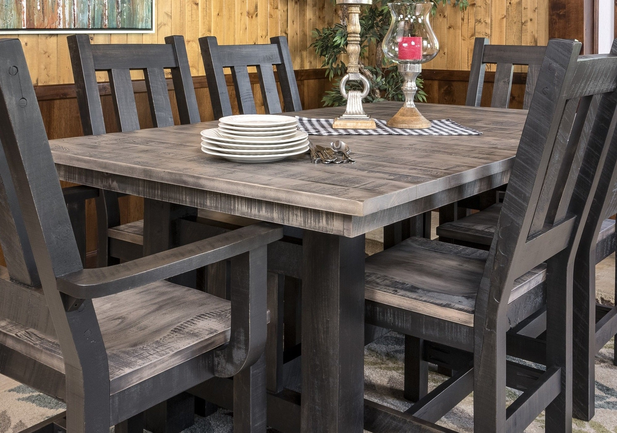 Amish Handcrafted Dining Room Chairs
