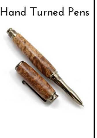 Real Wood Pens with Custom Engraving Option