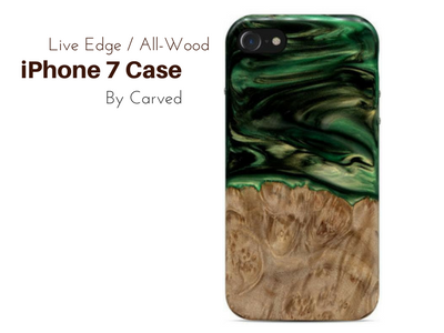 Live Edge All-Wood iPhone 7 Case by Carved