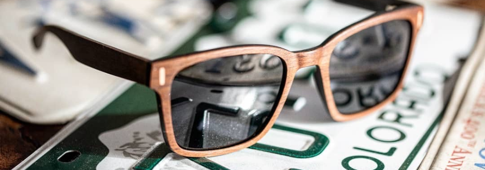 Polarized Wood Sunglasses from The Wood Reserve