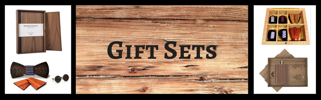 Solid wood gift sets for weddings, anniversaries, and special events from The Wood Reserve