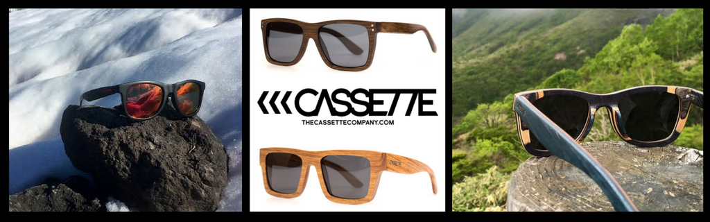 b45438a8952 Cassette Wooden Sunglasses from The Wood Reserve