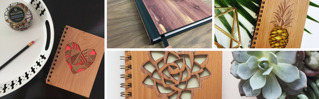 American Made Wooden Notebooks & Journals From The Wood Reserve